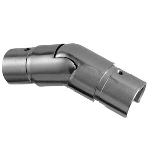 Q-railing Adjustable 25-55 Degree Round Downward Connector