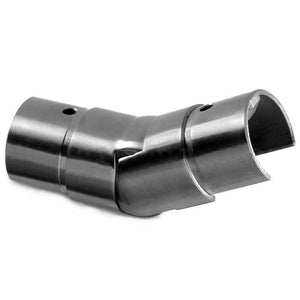 Q-railing Adjustable 25-55 Degree Round Upwards Connector