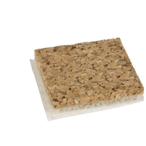 Shipping Pads (Cork w/ Static Cling Foam Backing) (1/8'') (25000 Pads)