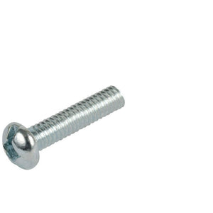Pan Head 8-32 Thread Steel Machine Screws 1-1/2'' Length - Package of 100
