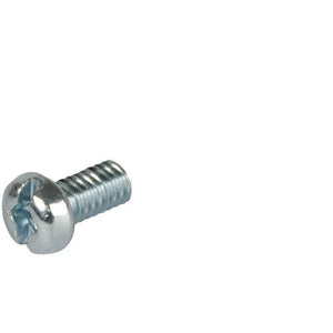 Pan Head 1/4-20 Thread Steel Machine Screws 1'' Length - Package of 100