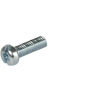 Pan Head 1/4-20 Thread Steel Machine Screw 1-3/4'' Length