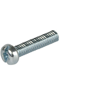 Pan Head 1/4-20 Thread Steel Machine Screw 2-1/2'' Length