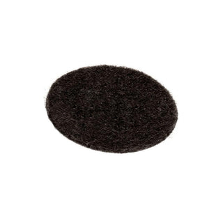 Black Felt Desk Buttons - Package of 100