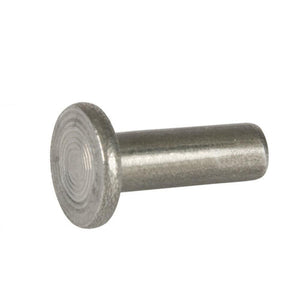 Solid Steel Flat Head Rivet