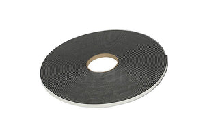 Adhesive, Single Sided, 1/16'' x 3/8'' Foam Glazing Tape - Length: 150 Ft.