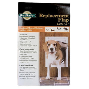 Replacement Flaps for Deluxe Series Pet Door For Cats Up To 15 lb.s and Small Dogs Up To 7 lbs.