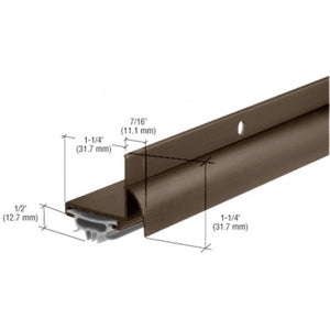 "Dark Bronze Anodized Combination Door Shoe for 36"" Door"