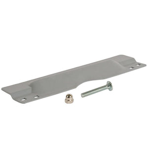 Security Latch Shield for Flush Mounted Doors - Silver