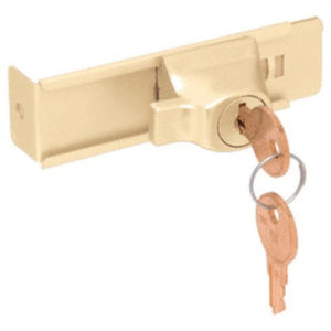 Gold Stick-On Showcase Lock