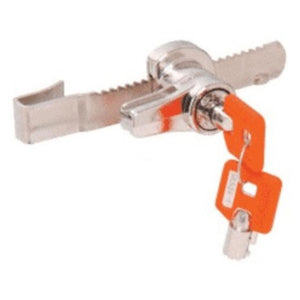 Keymatic Sliding Glass Showcase Door Ratchet Lock