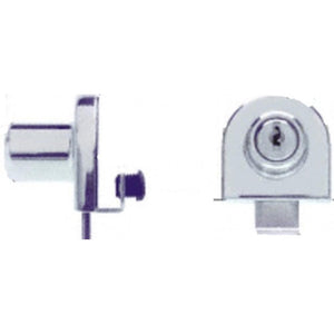 Showcase Single Glass Door Lock