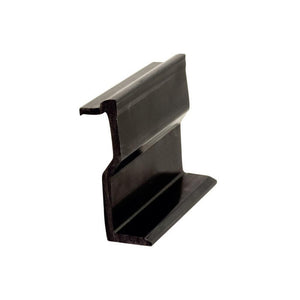 "Sliding Glass Door 2-3/8"" Fixed Panel Holder - Black"