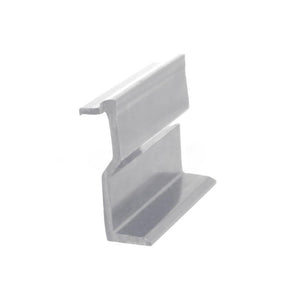 "Sliding Glass Door 2-3/8"" Fixed Panel Holder - White"