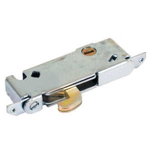 "Mortise Lock 1/2"" Wide Round End Face Plate with Vertical Keyway"