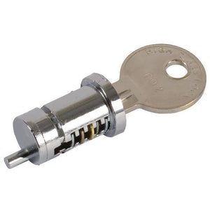 "Patio Door Cylinder Lock for 1-1/8"" to 1-1/4"" Doors"