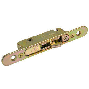 "Truth Hardware Mortise Lock 1/2"" Wide Round End Face Plate With 45 Degree Keyway"