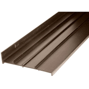 "Patio Door Bronze Replacement Threshold for Arcadia Doors; 4-5/8"" Wide"