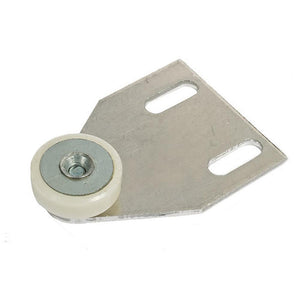 "Shower Door 3/4"" Oval Edge Nylon Door Roller Assembly"