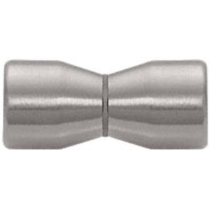Shower Door Back-to-Back Bow-Tie Style Knobs