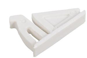 Sliding Window Flex Vent Lock - White