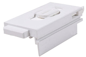 "Sliding Window 2-3/4"" Length White Tilt Latch - Left"
