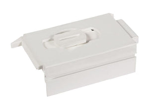 "Sliding Window 2-3/4"" White Tilt Latch - Left"