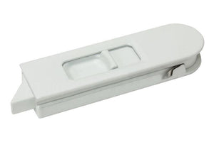 "Sliding Window 2-15/16"" White Tilt Latch - Left"