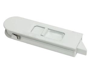 "Sliding Window 2-15/16"" White Tilt Latch - Right"