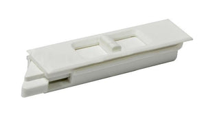 "Sliding Window 2-5/8"" White Tilt Latch - Left"