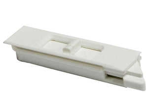 "Sliding Window 2-5/8"" White Tilt Latch - Right"