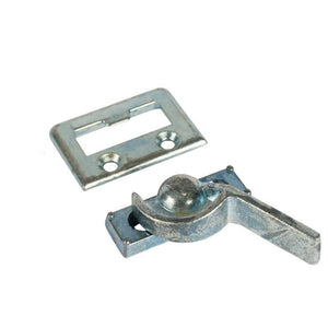 "Sliding Window Latch With 7/8"" Screw Holes"