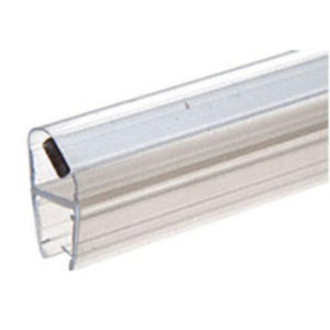 "Shower Door 45 Degree Magnetic Profile for Glass-To-Glass fits 1/4"" and 5/16"" Glass - Right Hand"