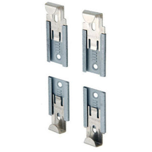 Adjustable Mirror Clip Set for Seamed Mirror