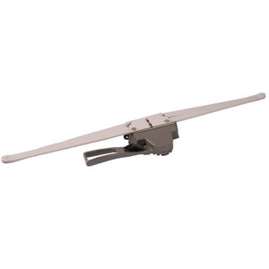 "Truth Hardware Regular Hand 20-1/2"" Single Pull Lever Window Operator 1/2"" Space For Housing - Clay"