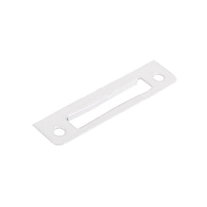 Truth Hardware Cam Handle Strike Plate - White
