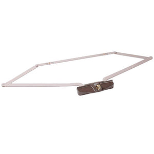 "Truth Hardware 25-1/2"" Dual Pull Roto-Gear Awning Window Operator - Brown"