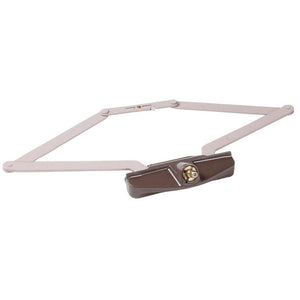 "Truth Hardware 16-1/8"" Roto Gear Awning Window Operator - Brown"
