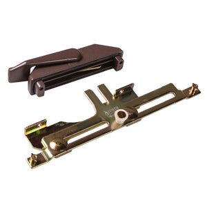 Truth Hardware Casement Window Left Hand Multi-Point Sash Lock Assembly - Brown