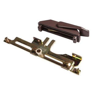 Truth Hardware Casement Window Right Hand Multi-Point Sash Lock Assembly - Brown