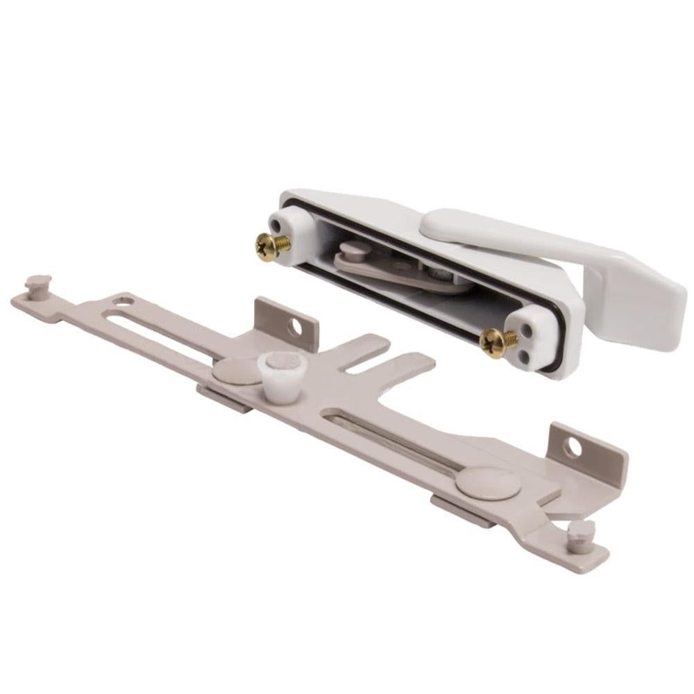 White Truth Hardware Casement Window Right Hand Multi-Point Sash Lock Assembly