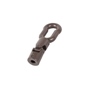 "Truth Hardware 45 Degree Universal Joint with Pole Eye for 5/16"" Spline Size - Brown"