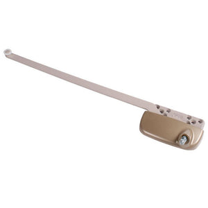 "Truth Hardware Ellipse Single Arm Left Hand Casement Window Operator With 13-1/2"" Arm - Coppertone"