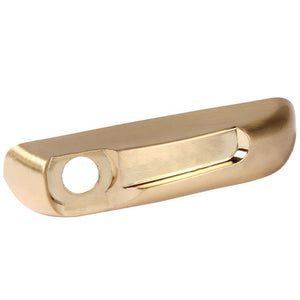 "Truth Hardware ""Encore"" Right Hand Operator Cover - Brushed Brass"