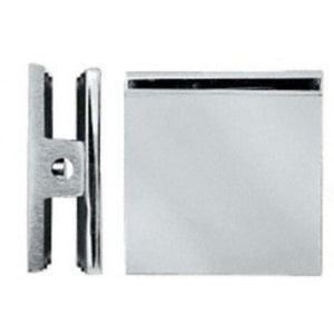 Square Style Hole-in-Glass Fixed Panel U-Clamp