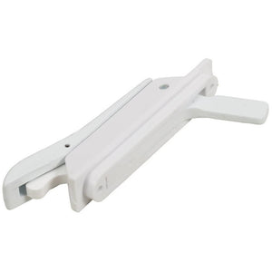 "Casement Window Multi-Point Locking Handle with 3-5/16"" Screw Holes - White"