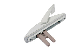 "Acme Window Hardware White 1-3/8"" Multi Lock Handle"