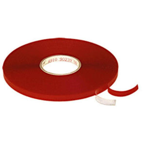 "Transparent 3M VHB .040"" x 1/4"" x 108' Double-Sided Adhesive Tape"