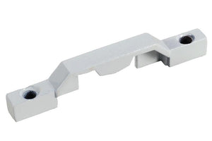 Circular Cam Lock 2-9/16'' Length Keeper White