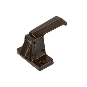 "Storm Door Interior Latch with 1-3/4"" Screw Holes - Brown"